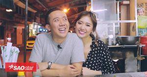 Hari Won - Trấn Thành khiến fan không nhịn được cười trước độ 'siêu ham ăn'