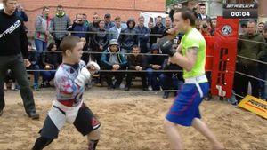 Trận đánh đáng nhớ của 'chú lùn' trên sàn đấu MMA