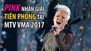 MTV vinh danh Pink với giải thưởng Ca sĩ Tiên phong
