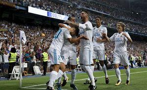 Vắng Ronaldo, Real vẫn hạ Barca giành Siêu Cup