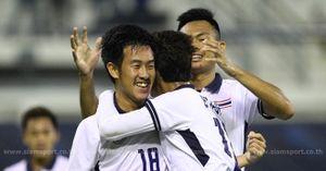 Tình huống ghi bàn duy nhất của U22 Thái Lan trước U22 Đông Timor