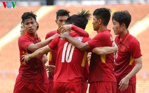 Clip U22 Việt Nam 4-1 U22 Campuchia: Vững vàng ở ngôi đầu