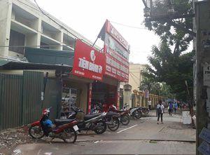 Điều tra thông tin bắn nhau ở tiệm sửa xe trên phố Hà Nội