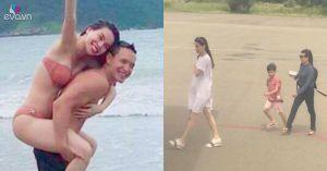 Thêm hình ảnh cho thấy Kim Lý đi du lịch cùng cả mẹ ruột của Hồ Ngọc Hà và bé Subeo