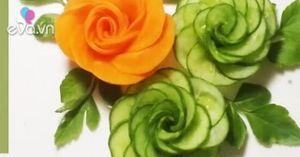 Với bí kíp tỉa hoa hồng này, mọi rau củ đều sẽ trở thành nghệ thuật