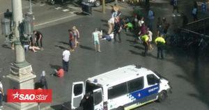 Tấn công khủng bố bằng ô tô ở Tây Ban Nha, hàng trăm người thương vong