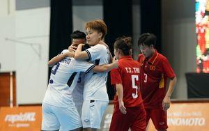 Futsal nữ Việt Nam thua đáng tiếc Thái Lan