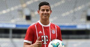 HÉ LỘ hợp đồng chi tiết 'khủng' của James Rodriguez ở Bayern Munich