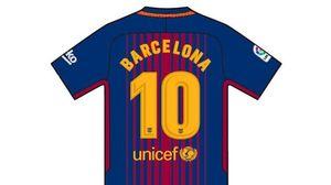 Barcelona mặc chiếc áo đặc biệt trong ngày khai màn La Liga