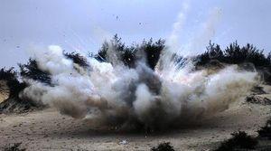 Nổ bom 6 người chết ở Khánh Hòa: Sức công phá của đạn pháo 105mm
