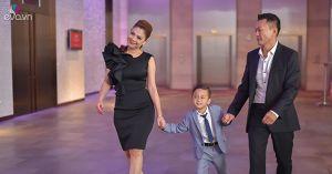 Thanh Thảo và bạn trai Việt kiều tình cảm đưa bé Jacky Minh Trí đi sự kiện