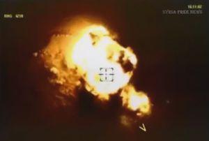 Không quân Nga săn diệt IS trên sa mạc Homs (video)