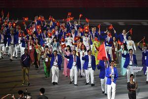 Lễ khai mạc SEA Games 29 và lời chào của Malaysia