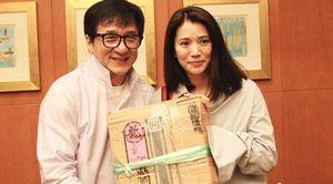 Thành Long hàn gắn quan hệ với Hoa hậu Hong Kong sau 22 năm
