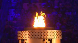 Màn rước đuốc ấn tượng tại lễ khai mạc SEA Games 29