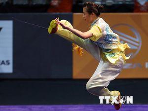 Cận cảnh Thúy Vy 'mở hàng vàng' cho Việt Nam tại SEA Games 29