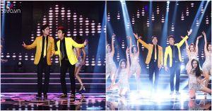 """Ngọc Sơn ngẫu hứng nhảy cùng học trò khiến khán giả """"phát cuồng"""""""