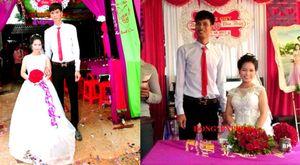 Đám cưới của chú rể 1m9 và cô dâu 1m4 ở Phú Thọ tràn ngập tiếng cười