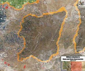 Quân đội Syria siết gọng kìm bao vây IS trên sa mạc Homs (video)