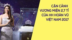 Vương miện 2,7 tỉ đồng dành cho Hoa hậu Hoàn vũ Việt Nam 2017