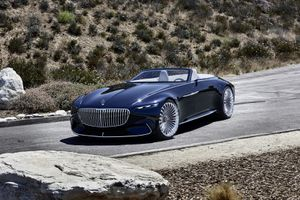Maybach 6 Cabriolet concept - xe mui trần hạng sang mới của Mercedes