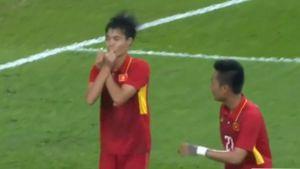 Bàn thắng đầu tiên của Văn Toàn ở SEA Games 29