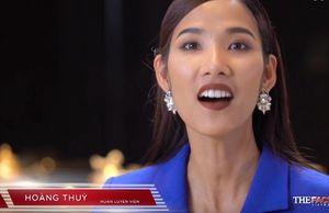 The Face: Đến bán kết, Hoàng Thùy 'chốt hạ' bằng câu tục ngữ ấn tượng