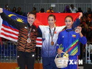 Bảng tổng sắp huy chương SEA Games 29: Việt Nam lên tốp 3