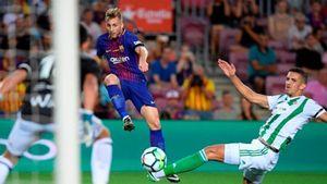 Những con số thú vị trong trận thắng của Barca trước Real Betis