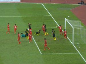 Video, kết quả bóng đá U22 Malaysia - U22 Myanmar: Đẳng cấp phản đòn (hiệp 1)