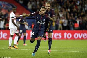 Xem cú đúp bàn thắng tuyệt đẹp của Neymar cho PSG