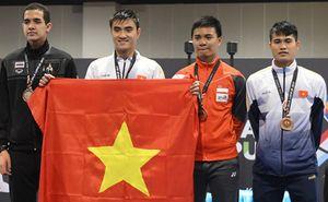 SEA Games 29: Kiếm thủ cầm cờ Đoàn TTVN giữ vững được thế mạnh của kiếm chém nam