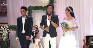 """Chú rể Trung Kiên và """"tình cũ"""" Quý Bình cùng """"thao thức vì em"""" trong đám cưới Lê Phương"""