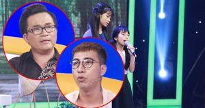 Cả 4 giám khảo đều bật khóc trước tiết mục của hai chị em hát rong nuôi cả gia đình
