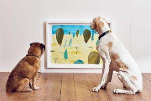 Triển lãm nghệ thuật tương tác đầu tiên trên thế giới dành riêng cho thú cưng