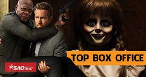 'Annabelle' nhường ngôi vương cho 'The Hitman's Bodyguard' tại Mỹ nhưng vẫn đứng đầu tại Việt Nam