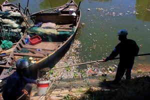 Cá chết nổi trắng sông Phú Lộc ở Đà Nẵng