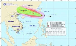 Thời tiết hôm nay (22/8): Bão Hato mạnh cấp 10 gần Biển Đông