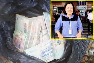 Nhặt được ba lô tiền 750 triệu đồng, nhân viên sân bay trả lại cho khách