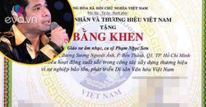 Ai phong hàm giáo sư âm nhạc cho ca sỹ Ngọc Sơn?