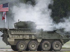 Xem Mỹ thử nghiệm vũ khí dùng để chống lại Nga ở châu Âu