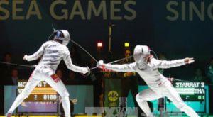 Nữ kiếm thủ Như Hoa mang về HCV SEA Games thứ 10 cho Việt Nam