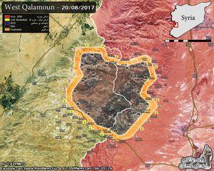 Quân đội Syria, Hezbollah tấn công dữ dội IS trên biên giới Lebanon (video)
