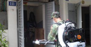 UBND TP Hà Nội gửi tin nhắn cảnh báo người dân dịch sốt xuất huyết