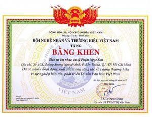 Vụ Giáo sư âm nhạc Ngọc Sơn: Cần văn bản quy định về phong tặng các danh hiệu