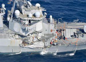 Chiến hạm tỷ đô liên tiếp đâm, radar hỏng hay thủy thủ kém?