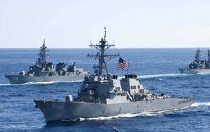 Uy lực tàu khu trục USS John McCain vừa va chạm với tàu Alnic MC