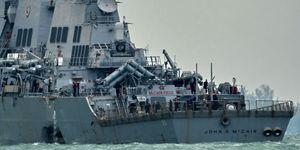 Giả thiết sốc liên quan Triều Tiên trong vụ chiến hạm Mỹ đâm tàu chở dầu