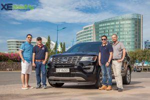 Ford Explorer qua trải nghiệm của các doanh nhân