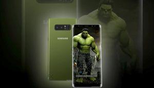 Chiêm ngưỡng Galaxy Note 8 phiên bản đặc biệt Hulk Edition